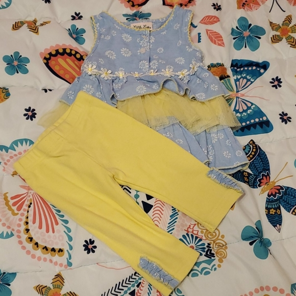 Little Lass Other - Sunflower outfit